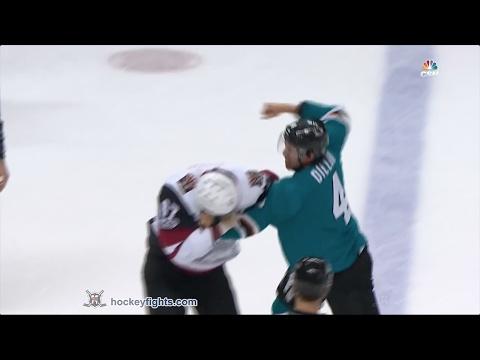 Lawson Crouse vs Brenden Dillon Feb 4, 2017