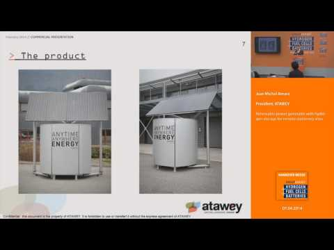 Renewable power generator with hydrogen storage for remote stationery sites