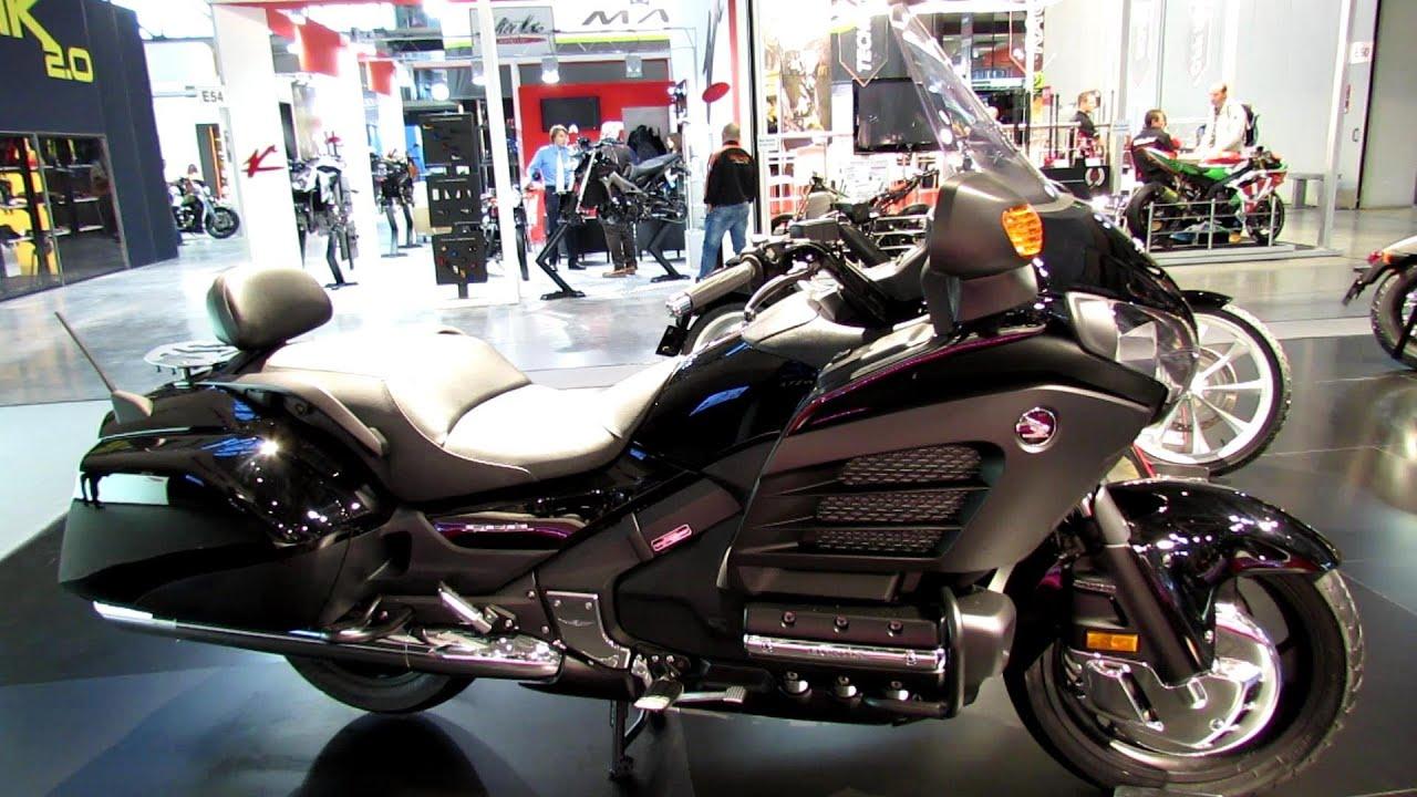 honda gold wing fb walkaround  eicma milan motorcycle exibition youtube