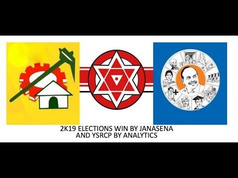 Pawan kalyan vs Ys jagan Vs Chandrababu | election 2k19 results from  facebook followers live count
