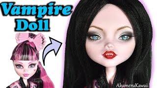 Vampire Doll Repaint - Draculaura Revamp