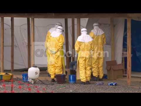 EBOLA: CDC DIRECTOR IN LIBERIA
