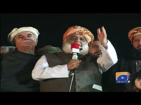 Maulana Fazl-ur-Rehman Today's Speech | 10th November 2019