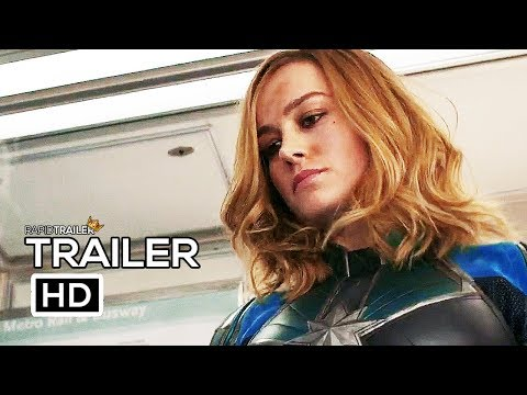 CAPTAIN MARVEL   2019 Brie Larson Marvel Superhero Movie HD