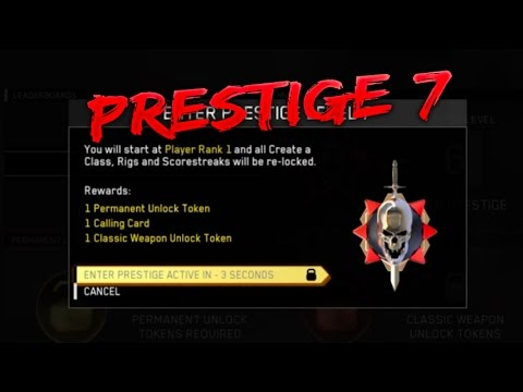 Kor3aYn Entering 7th Prestige in Infinite Warfare