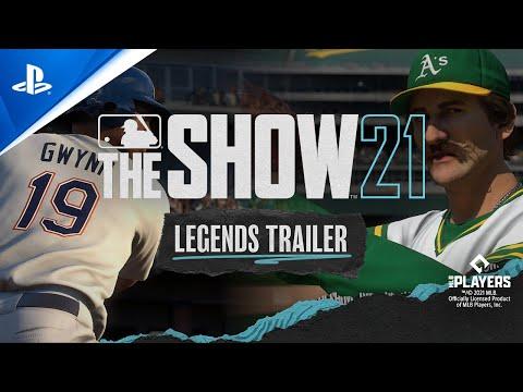 MLB The Show 21 - Major League Legends burada |  PS5, PS4