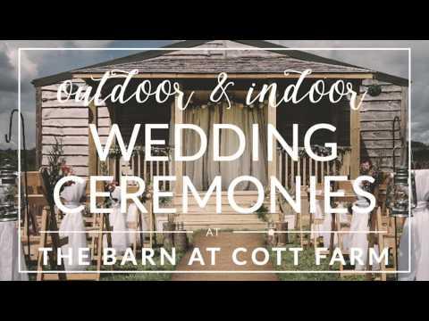 Outdoor & Indoor Wedding Ceremonies at The Barn at Cott Farm   cottfarmwedding.co.uk