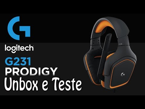 [PT-BR] Unbox e Teste: Headset Logitech G231 Prodigy