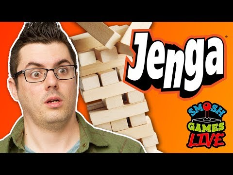 JENGA TRIVIA CHALLENGE! (Smosh Games Live)