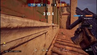 R6 SIEGE | 1 v 4 With Defuser Activated