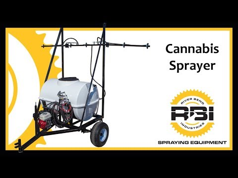 Cannabis Sprayer - Pull Type - Adjustable Spray Bar - 160 Gallon - River Bend Industries