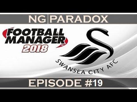Swansea City #19 | Europa League Koln | Football Manager 2018