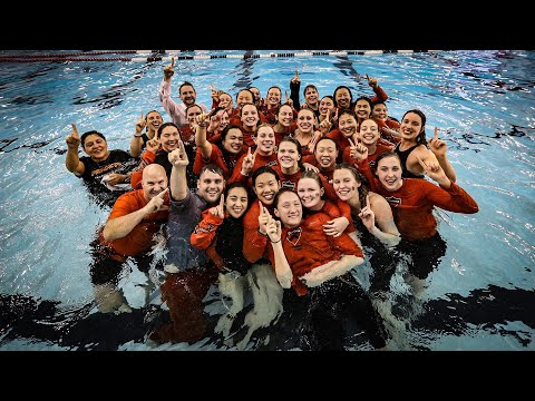 Highlights: No. 22 Women's Swimming & Diving Wins Ivy League Championship - 2/22/20