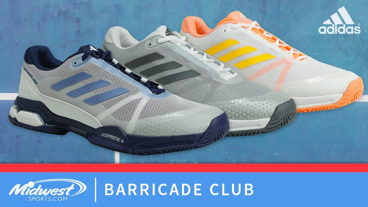 Adidas Barricade Club - YouTube f83f7244c
