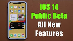 iOS 14 Public Beta is RELEASED - Top 20 New Features!