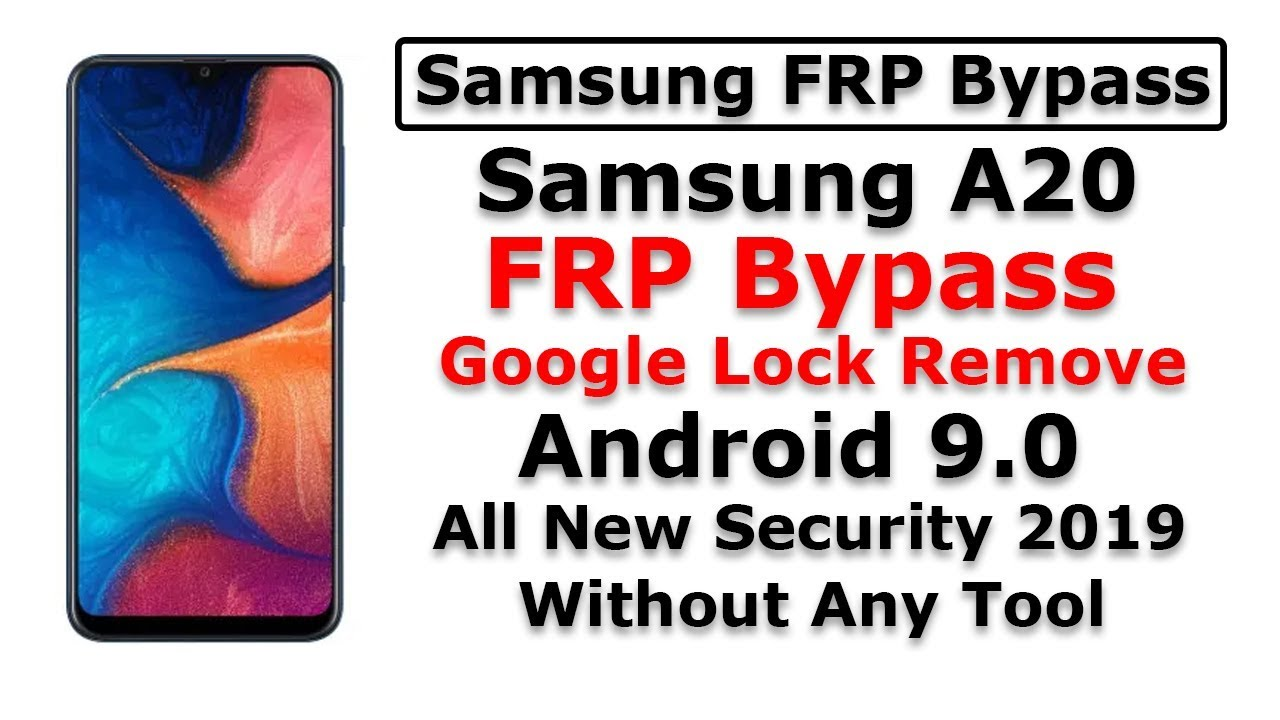 Samsung A20 frp bypass | Android 9 0 | All new security 2019 | New Method  2019 | By Mobile Guru