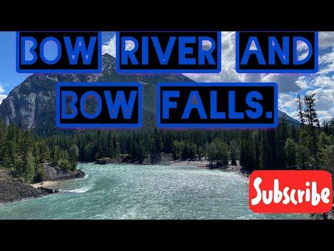 Bow River Falls | Bow Falls | Bow River| Banff, Alberta, Canada 🇨🇦