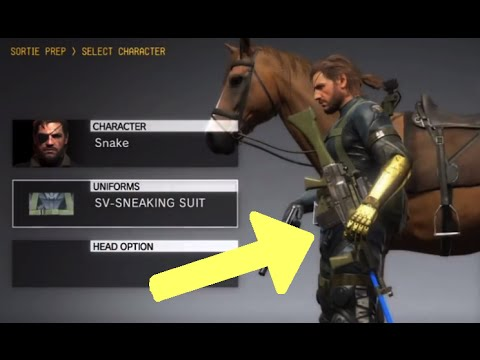 MGSV: Phantom Pain - Unlock Ground Zeroes Save Data Items (Metal Gear Solid 5)