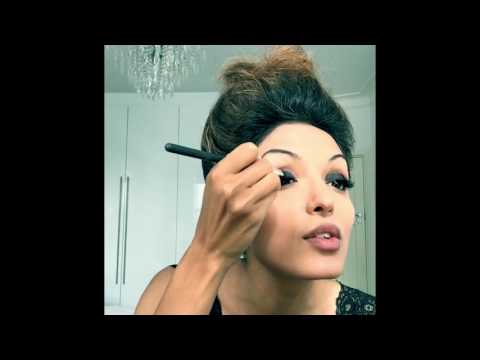 Tutorial to get beautiful smokey eyes for Indian/Arab/Asian skin! Just a few steps to glamour!
