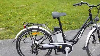 Lithium Step Through Electric E Bike Bicycle For Sale IN STOCK!