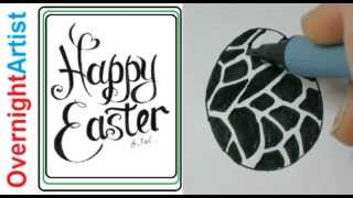 Draw Animal Patterns on Easter eggs How To Decorate