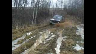 Нива на охоте в Смоленской области