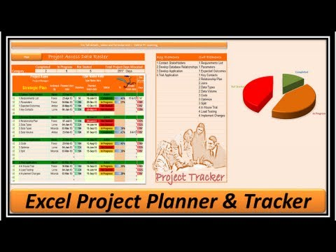 Excel -- Project Management - Project Manager -- Excel 2013 - Youtube