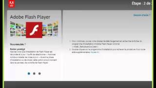 Installation du plug-in flash player dans Chrome