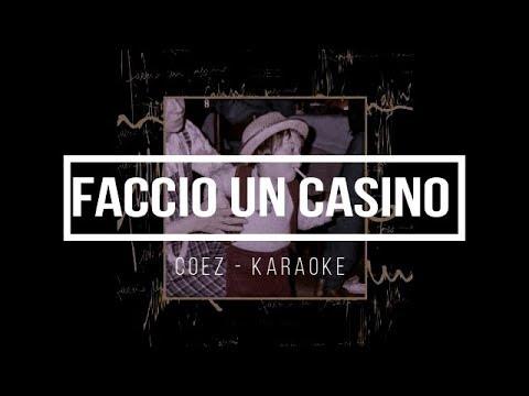 Coez - Faccio Un Casino [Karaoke/Base Strumentale]