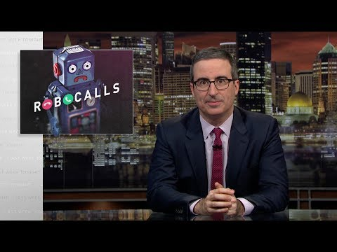 John Oliver Trolled the FCC Because He's Fed Up With Robocalls, and So Are We!