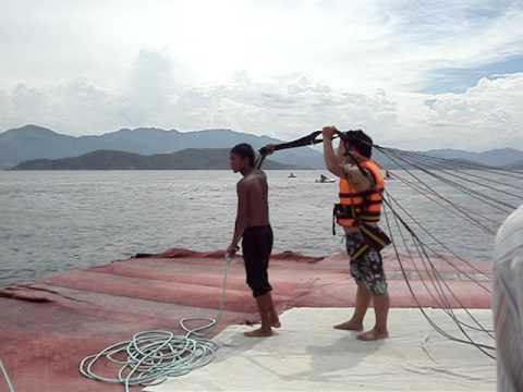 nhay du cano keo o Nha Trang