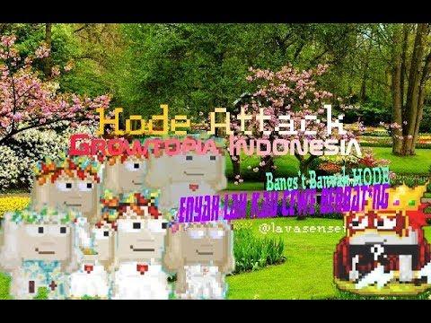 Growtopia Indonesia - Hode Attack (Moment Ngakak)