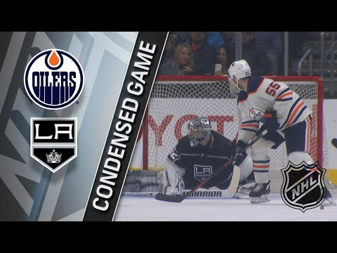 02/24/18 Condensed Game: Oilers @ Kings