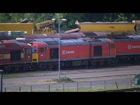 Toton Traction Depot Visit (Nottinghamshire, UK) 06/08/2016 HD
