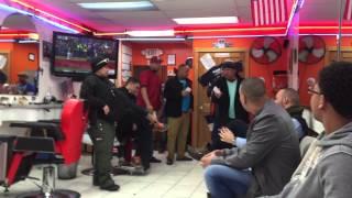 Passaic Police taking advangtage of customers at barbershop