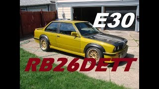 BMW E30 325is RB26DETT Swap Project