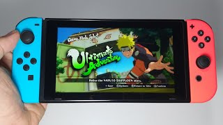 NARUTO SHIPPUDEN: Ultimate Ninja STORM 3 Full Burst Nintendo Switch handheld gameplay