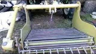 Мототрактор + картофелекопалка транспортерная мотоблочная(, 2016-09-05T07:21:28.000Z)