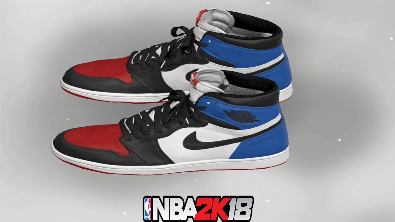 NBA 2K18 Shoe Creator NBA2K18 Jordan 1 Top 3