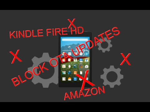 Block Fire OS Updates On Your Fire Tablet