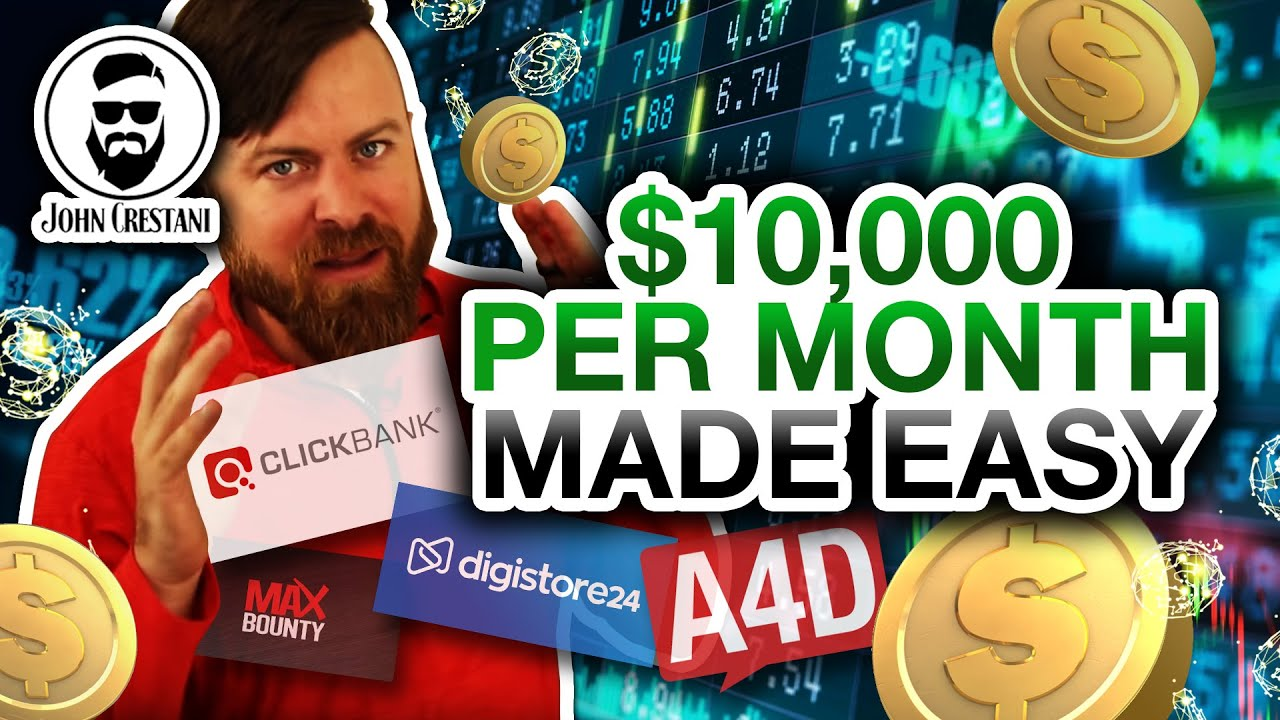 How To Make $10,000 A Month With Affiliate Marketing (Beginner Friendly)