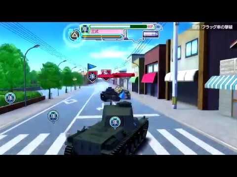 BGM付き 『ガールズ&パンツァー 戦車道、極めます!』プレイ動画 VSバトルロイヤルモード