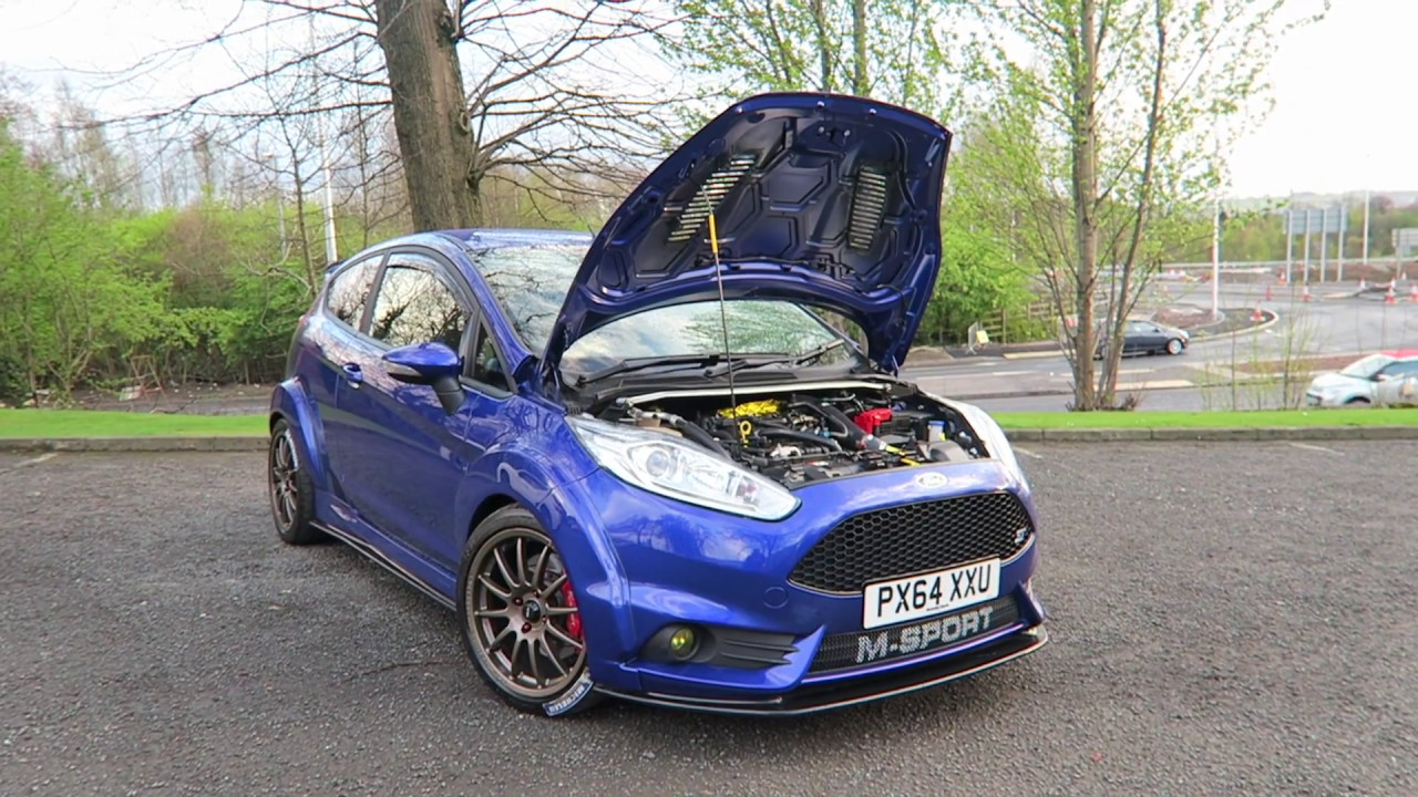 293BHP, HYBRID TURBO, STAGE 4, WIDE ARCH FIESTA ST!! - YouTube