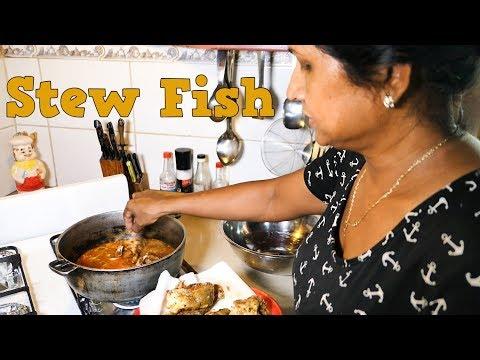 Mom's Stewed Fish Recipe.