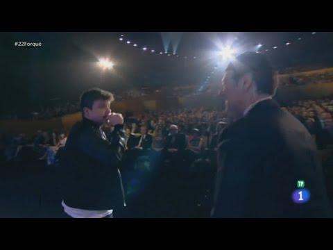 Arkano Improvisando en la Televisión Española - Gala de los XXII Premios José María Forqué 2017