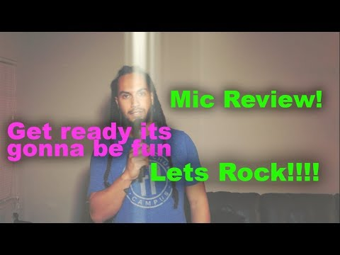 FiFine usb karaoke Microphone review   ( this was fun)