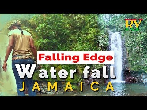 Jamaican waterfalls  Falling Edge waterfall  Travel Vlog