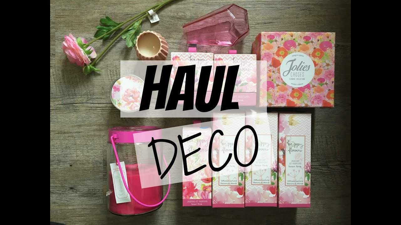 haul vente privee deco maison du monde youtube. Black Bedroom Furniture Sets. Home Design Ideas