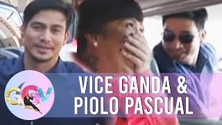 Piolo pretends to be Vice Ganda's driver | GGV