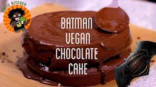 Batman Vegan Chocolate Cake | Kofi